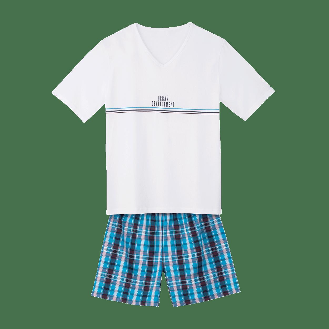 Piżama męska z bawełny BIO niska cena w ALDI